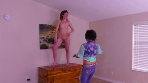 Strip Torange with Stefanie and SarahBeth (HD)