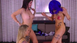 Strip Freeze with Dylan, Nancy, and Carmen (HD)
