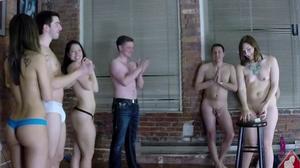 Strip Screw Your Neighbor with Dante, Cass, Avi, Thomas, and Lydia
