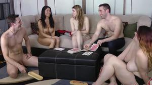 Strip Screw Your Neighbor with Dante, Cass, Avi, Thomas, and Lydia (HD)