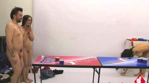 Strip Beer Pong vs Franco,Holly,Dick & Zayda