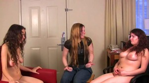Elizabeth, Julie, and Lily play Strip Poker