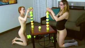 Strip Ball Stacks with Dolly and Nettle (HD)